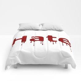 Hate Blood Comforters
