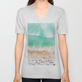 Beach Mood Unisex V-Neck
