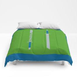 Cowabunga (Leonardo Version) Comforters