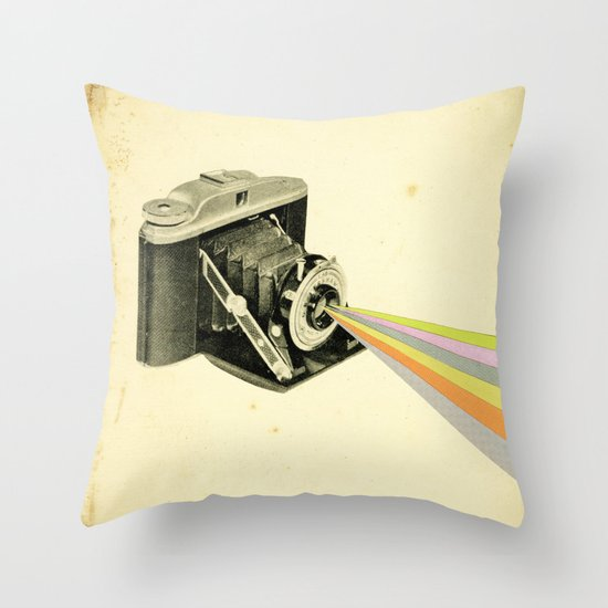 It's a Colourful World Throw Pillow