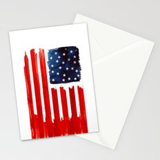 stars and buildings Stationery Cards