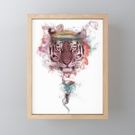 Tiger - Spirit Animal Framed Mini Art Print