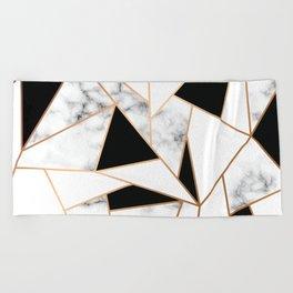 Marble III 003 Beach Towel