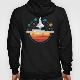 Space Shuttle & Solar System Hoody