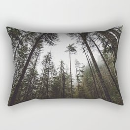 Pacific Northwest Forest Rectangular Pillow