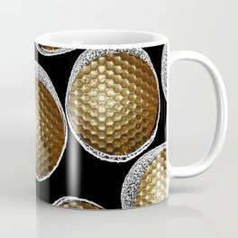 BLACK & WHITE & GOLD Coffee Mug