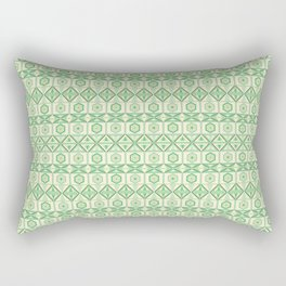 Tribal Geometric Pattern Rectangular Pillow