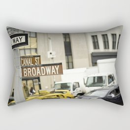 Standing at the Crossroads Rectangular Pillow
