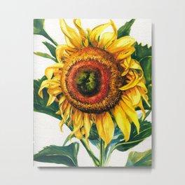 Big Sunflower Metal Print
