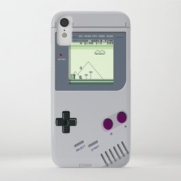 OLD GOOD GAMEBOY iPhone Case