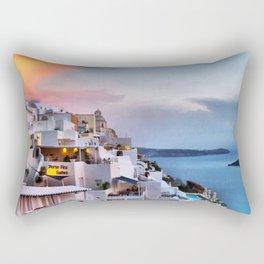Santorini 8 Rectangular Pillow