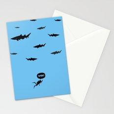 WTF? Tiburones! Stationery Cards
