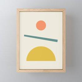 Sunrise / Sunset Framed Mini Art Print
