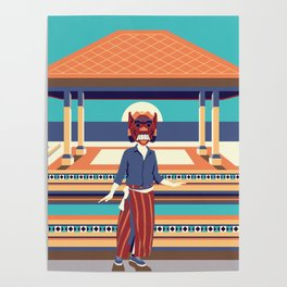 moroccan summer Poster