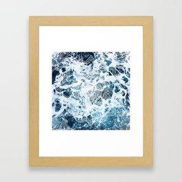 Ocean Mandala - My Wild Heart Framed Art Print