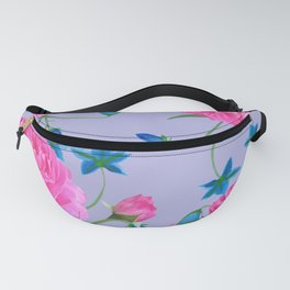 Blue Bells Painted Fanny Pack