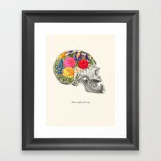 Politeness is the flower of humanity Framed Art Print