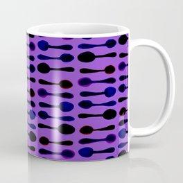 Purple Spoon Print! Coffee Mug
