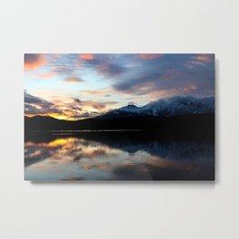 Dreamy Jasper Sunset Metal Print