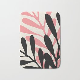 Still Life with Vase and Three Branches Bath Mat