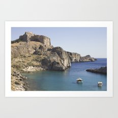 This sea is around us Art Print