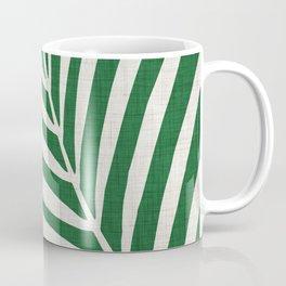 Minimalist Palm Leaf Coffee Mug
