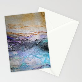 Abstract colors 4 Stationery Cards