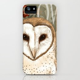 The Barn Owl Journal iPhone Case