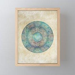 Moonchild Mandala Framed Mini Art Print