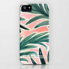 Lush Tropical Palm Slim Case iPhone (5, 5s)