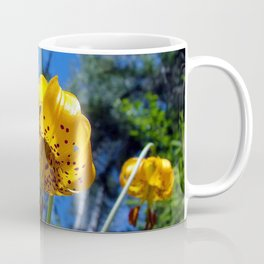 flower lily nature spotted Coffee Mug