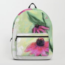 Purple Coneflowers Backpack