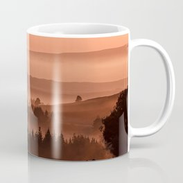 My road, my way. Brown. Coffee Mug