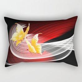 Tanz der Schmetterlinge Rectangular Pillow