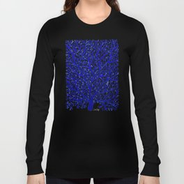 Fan Coral – Navy Long Sleeve T-shirt
