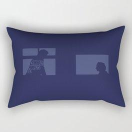Criminals Always Lie. -The Thin Blue Line Rectangular Pillow