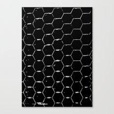 Minimalistic Beehive Canvas Print