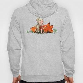 Girl and Fox Hoody