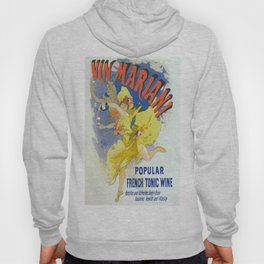 Vintage poster - French Wine Hoody