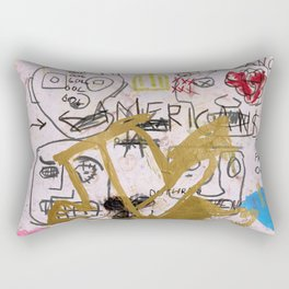 My Neighborhood Rectangular Pillow