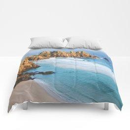 Cornish Coastal Sunset Comforters