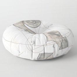 musical geometr.eye Floor Pillow