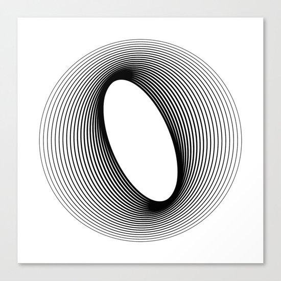 O like O Canvas Print