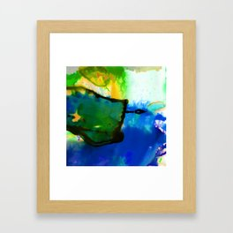 Abstract Bliss 4I by Kathy Morton Stanion Framed Art Print