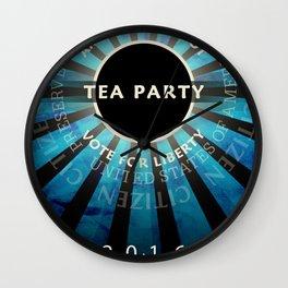 Tea Party 2016 Wall Clock