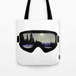 Morning Goggles Tote Bag