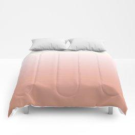 Just Peachy Gradient Comforters
