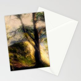 Misty Solitude, The Way Through The Woods Stationery Cards