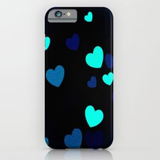 Blue Hearts Slim Case iPhone 6s