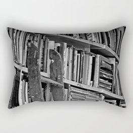 Book Shelves Rectangular Pillow